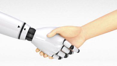 تصویر از پوست الکترونیک به رباتها حس میدهد