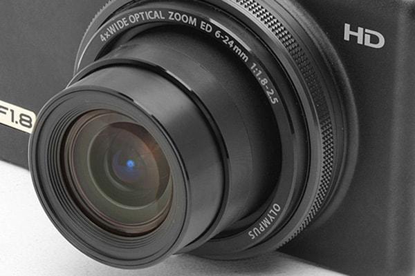 Camera-Compact-High-End-Lense