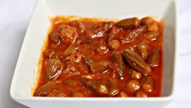 تصویر از طرز تهیه خورش بامیه با گوشت