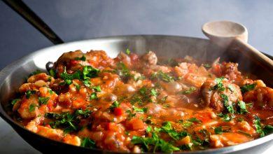 تصویر از طرز تهیه خورش مرغ