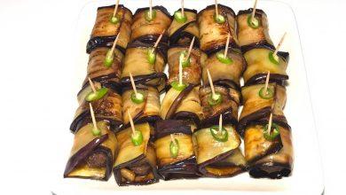 تصویر از طرز تهیه کباب بادمجان با گوشت