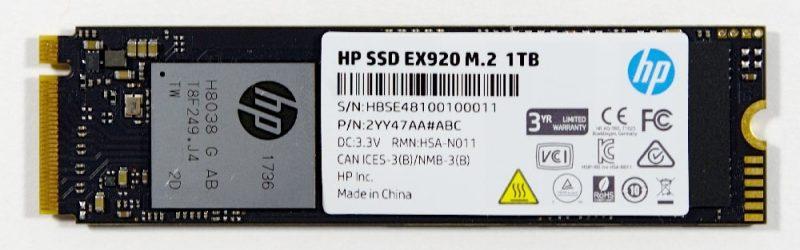 HP SSD EX920