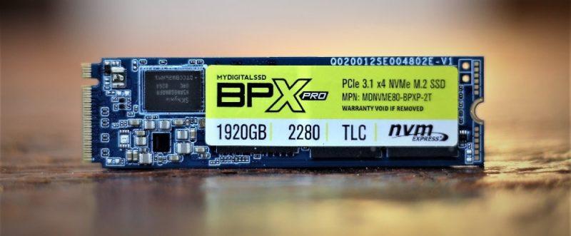 MyDigitalSSD BPX Pro
