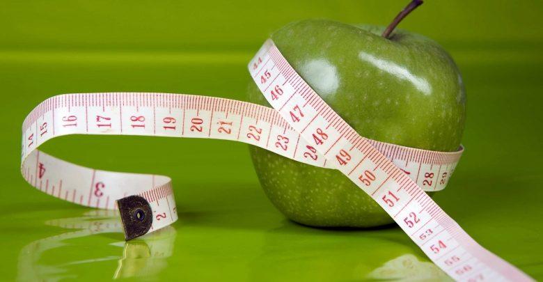 سیب و لاغری