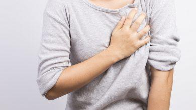 تصویر از علت درد سینه