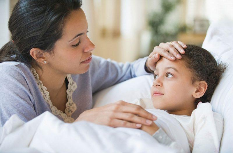 گلو درد کودکان