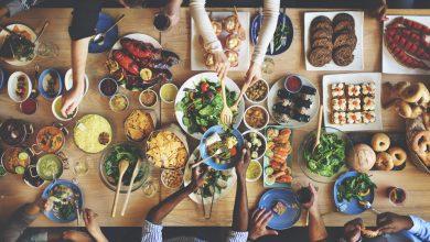 آداب غذاخوردن در مهمانی