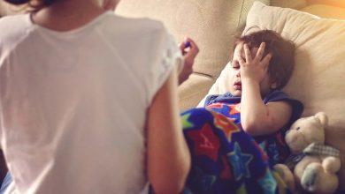 تصویر از درمان گلو درد کودکان با روش های خانگی