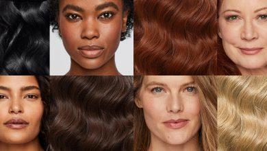 نحوه انتخاب رنگ مو