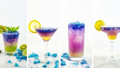 تصویر از طرز تهیه شربت سه رنگ