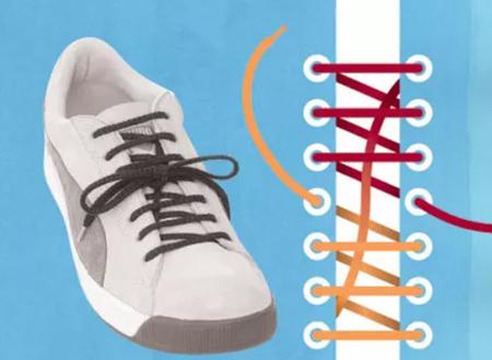 مدل بستن بند کفش