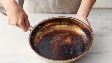 تصویر از چگونه ظرف سوخته را بشوییم