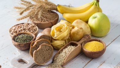تصویر از غذاهای کربوهیدرات دار برای کاهش وزن