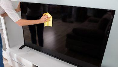 تصویر از چگونه شیشه تلویزیون ال ای دی یا ال سی دی را تمیز کنیم