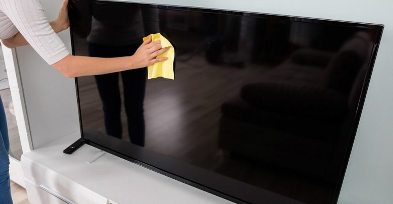 تمیز کردن تلویزیون ال ای دی یا ال سی دی