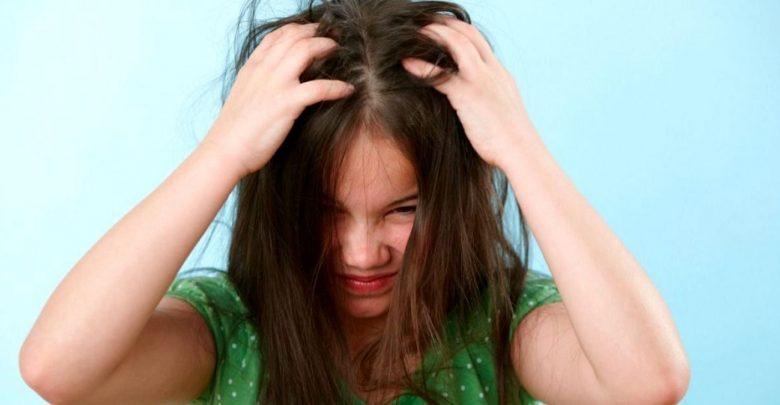 درمان شپش سر کودکان