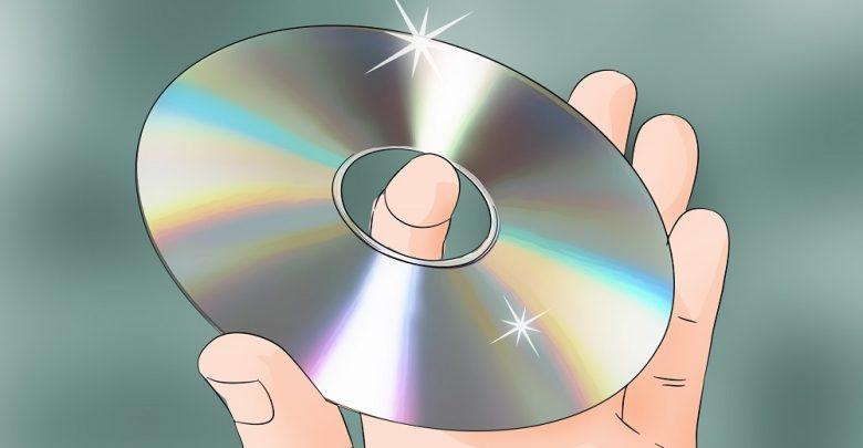 خش سی دی را چگونه بگیریم