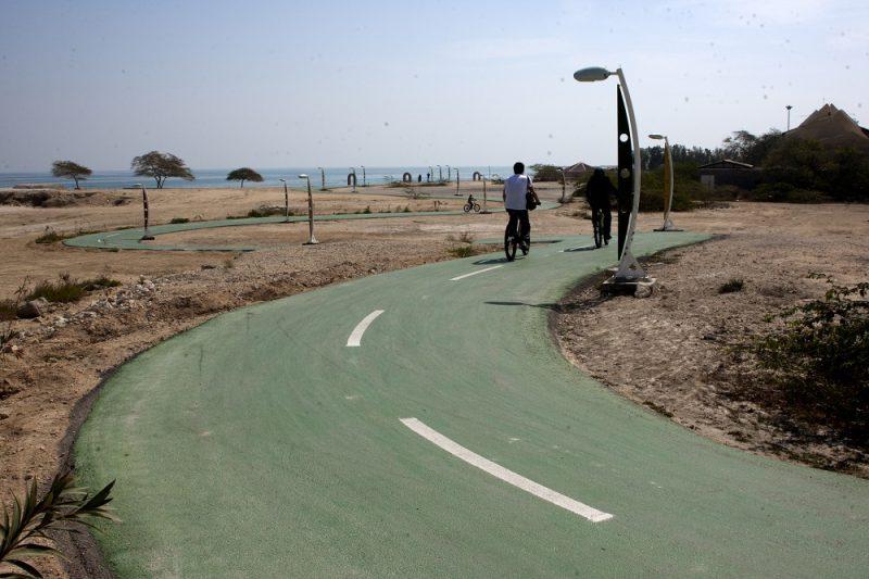 مسیر دوچرخهسواری کیش