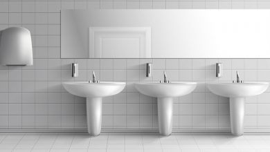 تصویر از بهترین روش های برق انداختن کاشی های حمام و سرویس بهداشتی