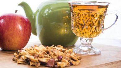 تصویر از خواص دمنوش یا چای سیب خشک شده
