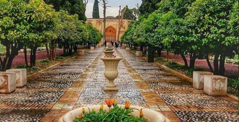 باغ جهان نمای شیراز
