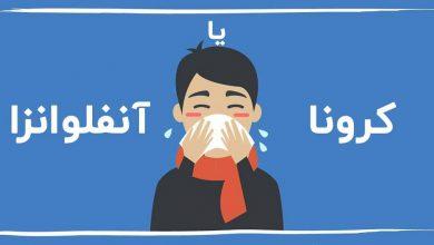 تفاوت کرونا و سرماخوردگی