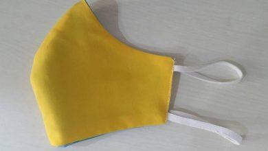 تصویر از چگونه ماسک تنفسی پارچه ای درست کنیم؟