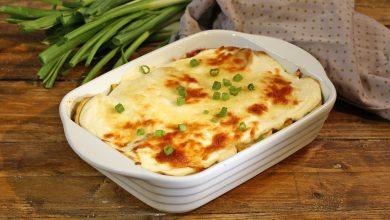 تصویر از طرز تهیه پاستا با سس پنیر و خامه