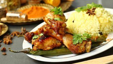 تصویر از طرز تهیه مرغ بریانی هندی خوشمزه