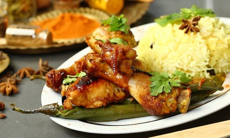بریانی مرغ هندی