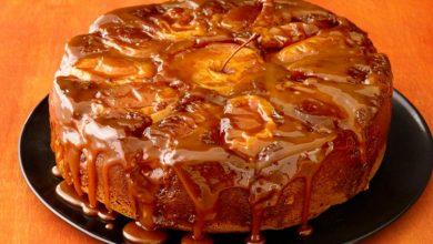 کیک سیب کاراملی