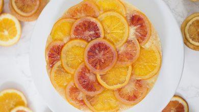 تصویر از طرز تهیه کیک پرتقال کاراملی مرحله به مرحله
