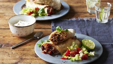 تصویر از طرز تهیه بوریتو گوشت مکزیکی خوشمزه