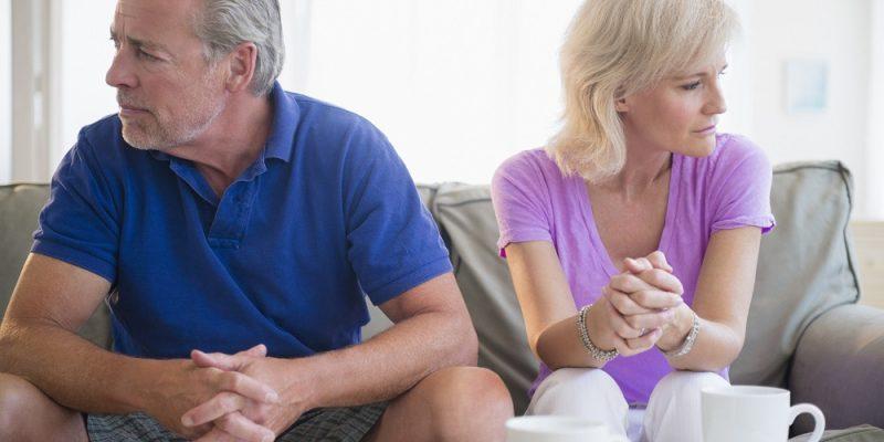 طلاق در میانسالی