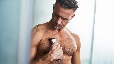 اصلاح موی بدن مردان