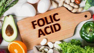 مواد غذایی حاوی اسید فولیک
