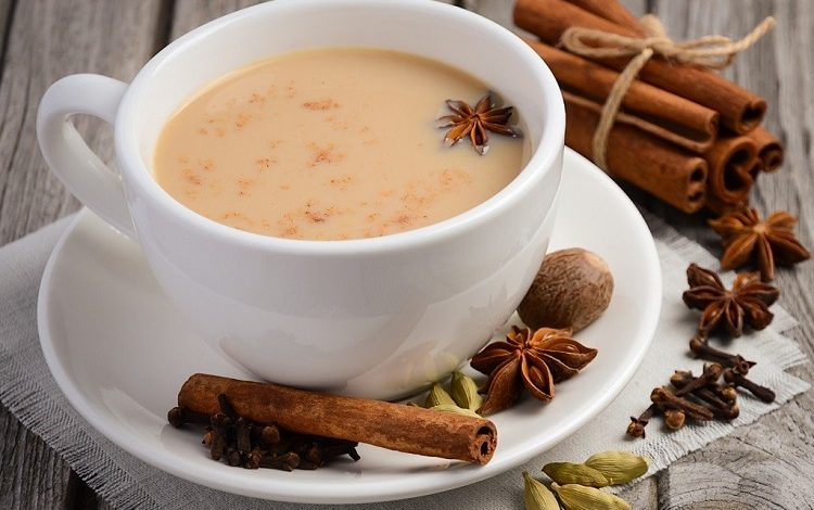 چای هندی با شیر