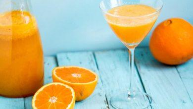 شربت پرتقال پالپ دار