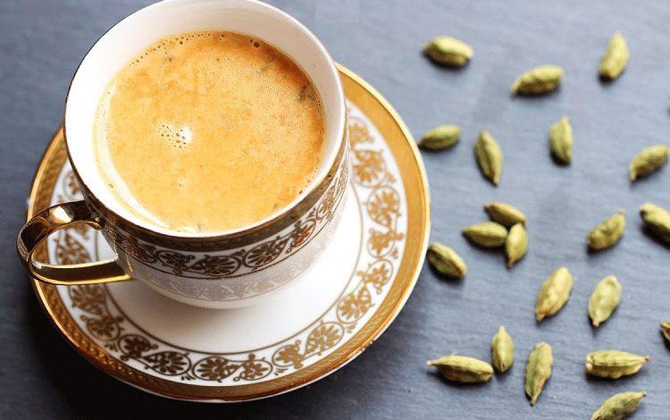 چای کرک هل و زعفران
