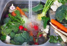 تصویر از نحوه ضدعفونی کردن میوه و سبزیجات در دوران کرونا