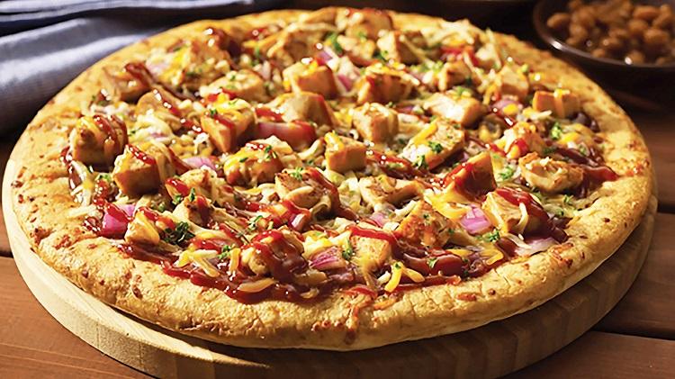 پیتزا مرغ باربیکیو