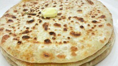 آلو پاراتا - نان سیب زمینی هندی