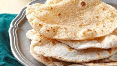 نان چاپاتی هندی