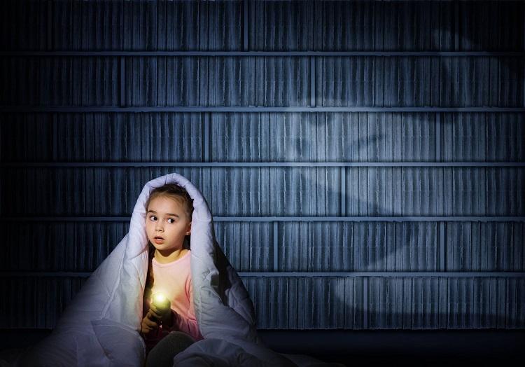 ترس کودکان در شب