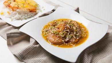 تصویر از طرز تهیه خورش هویج و پسته سمنان