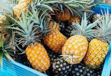 تصویر از نحوه انتخاب آناناس رسیده و آبدار؛ نگهداری آن برای مدت طولانی