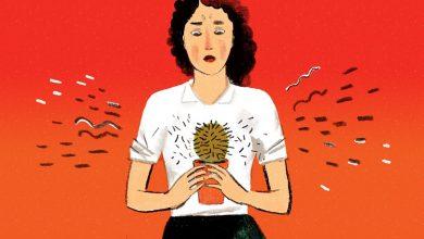 حساس شدن و درد سينه ها در زنان