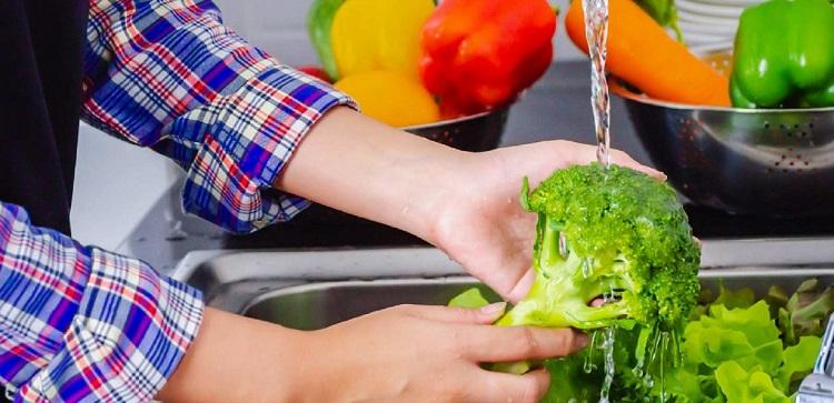 ضدعفونی میوه و سبزیجات
