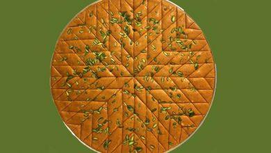 تصویر از طرز تهیه حلوا لوز دماوندی (سوغات دماوند)