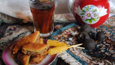 تصویر از طرز تهیه چای لیمو عمانی عراقی (به روش عربی)